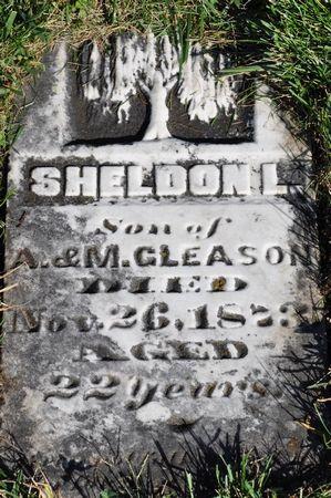 GLEASON, SHELDON L. - Grundy County, Iowa | SHELDON L. GLEASON