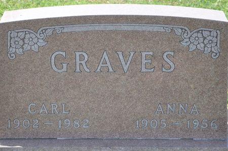 GRAVES, ANNA - Grundy County, Iowa | ANNA GRAVES