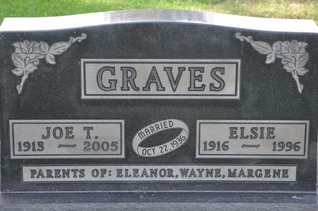 GRAVES, ELSIE - Grundy County, Iowa | ELSIE GRAVES
