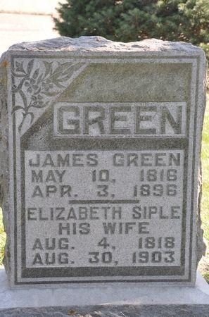 GREEN, JAMES - Grundy County, Iowa   JAMES GREEN