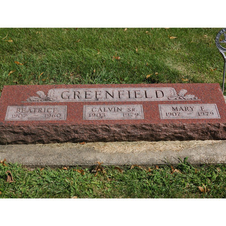 GREENFIELD, BEATRICE - Grundy County, Iowa | BEATRICE GREENFIELD