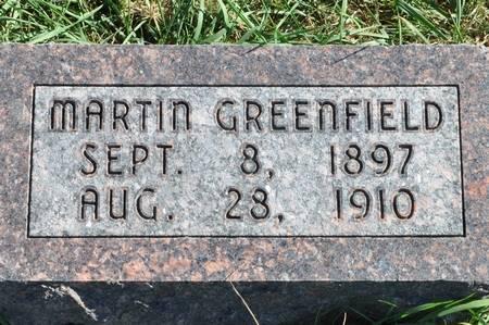 GREENFIELD, MARTIN - Grundy County, Iowa   MARTIN GREENFIELD