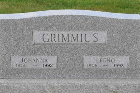 GRIMMIUS, LEENO - Grundy County, Iowa | LEENO GRIMMIUS
