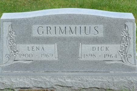 GRIMMIUS, DICK - Grundy County, Iowa | DICK GRIMMIUS