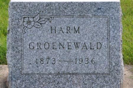 GROENEWALD, HARM - Grundy County, Iowa | HARM GROENEWALD