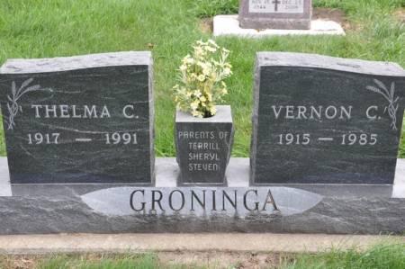 GRONINGA, VERNON C. - Grundy County, Iowa | VERNON C. GRONINGA