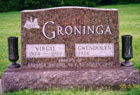 GRONINGA, VIRGIL - Grundy County, Iowa | VIRGIL GRONINGA