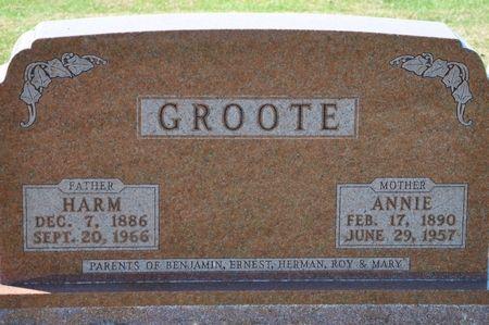 GROOTE, ANNIE - Grundy County, Iowa | ANNIE GROOTE