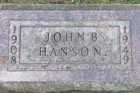 HANSON, JOHN B. - Grundy County, Iowa | JOHN B. HANSON