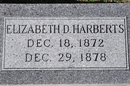 HARBERTS, ELIZABETH D. - Grundy County, Iowa | ELIZABETH D. HARBERTS