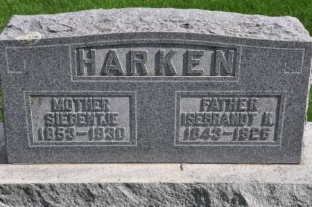 HARKEN, ISEBRANDT K. - Grundy County, Iowa   ISEBRANDT K. HARKEN