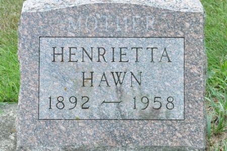HAWN, HENRIETTA - Grundy County, Iowa | HENRIETTA HAWN
