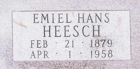 HEESCH, EMIEL HANS - Grundy County, Iowa   EMIEL HANS HEESCH