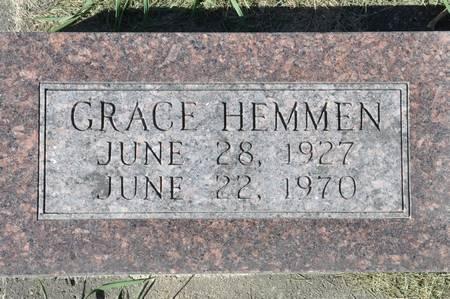HEMMEN, GRACE - Grundy County, Iowa | GRACE HEMMEN