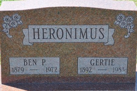 HERONIMUS, BEN P. - Grundy County, Iowa | BEN P. HERONIMUS