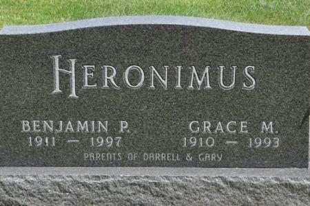 HERONIMUS, GRACE M. - Grundy County, Iowa | GRACE M. HERONIMUS