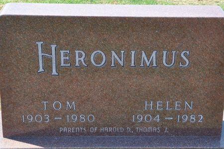 HERONIMUS, HELEN - Grundy County, Iowa | HELEN HERONIMUS