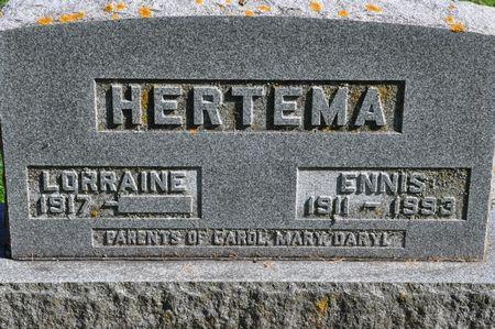 HERTEMA, ENNIS - Grundy County, Iowa   ENNIS HERTEMA