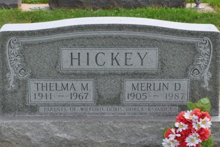 HICKEY, MERLIN D. - Grundy County, Iowa | MERLIN D. HICKEY