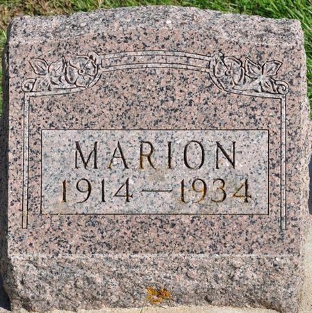 HILLYGUS, MARION - Grundy County, Iowa | MARION HILLYGUS