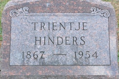 HINDERS, TRIENTJE - Grundy County, Iowa | TRIENTJE HINDERS