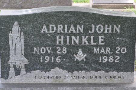 HINKLE, ADRIAN JOHN - Grundy County, Iowa | ADRIAN JOHN HINKLE