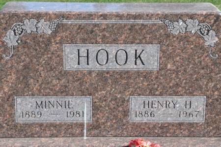 HOOK, MINNIE - Grundy County, Iowa | MINNIE HOOK