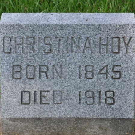 HOY, CHRISTINA - Grundy County, Iowa | CHRISTINA HOY