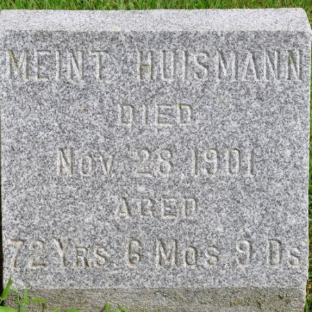 HUISMANN, MEINT - Grundy County, Iowa | MEINT HUISMANN