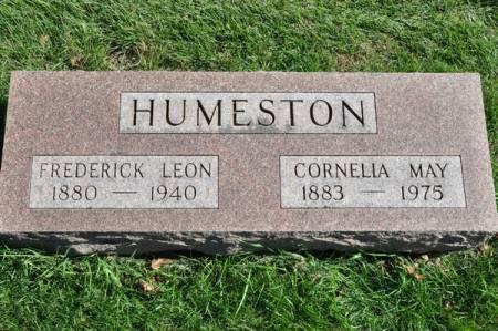 HUMESTON, CORNELIA MAY - Grundy County, Iowa | CORNELIA MAY HUMESTON