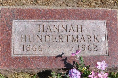 HUNDERTMARK, HANNAH - Grundy County, Iowa   HANNAH HUNDERTMARK