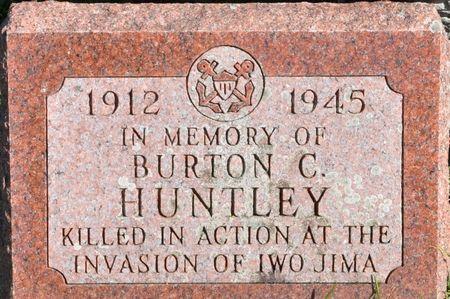 HUNTLEY, BURTON C. - Grundy County, Iowa | BURTON C. HUNTLEY