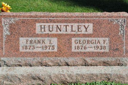 HUNTLEY, GEORGIA F. - Grundy County, Iowa   GEORGIA F. HUNTLEY