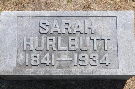 HURLBUTT, SARAH - Grundy County, Iowa | SARAH HURLBUTT