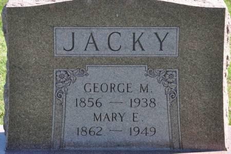 JACKY, GEORGE M. - Grundy County, Iowa | GEORGE M. JACKY