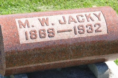 JACKY, M. W. - Grundy County, Iowa | M. W. JACKY