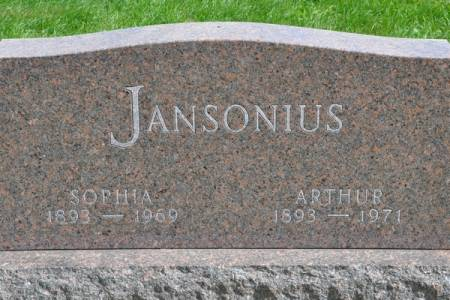 JANSONIUS, ARTHUR - Grundy County, Iowa | ARTHUR JANSONIUS