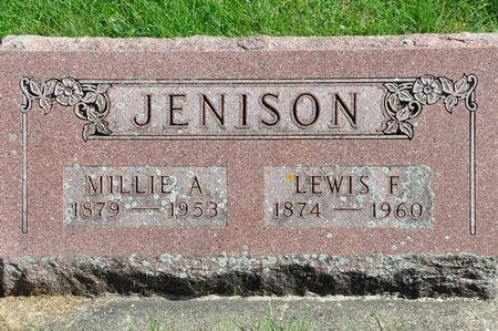JENISON, MILLIE A. - Grundy County, Iowa | MILLIE A. JENISON