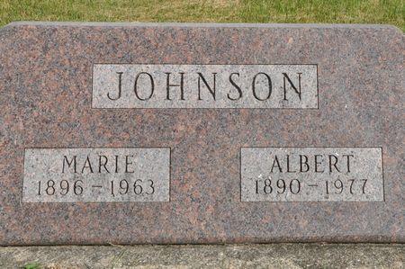 JOHNSON, ALBERT - Grundy County, Iowa | ALBERT JOHNSON