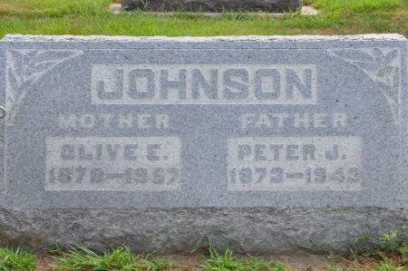 JOHNSON, OLIVE E. - Grundy County, Iowa   OLIVE E. JOHNSON