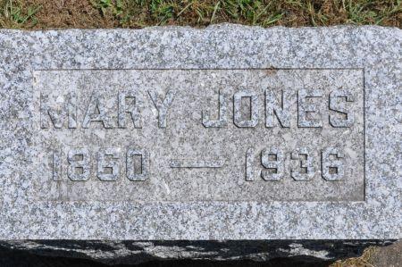 JONES, MARY - Grundy County, Iowa | MARY JONES