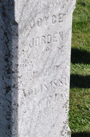 JORDEN, JOYCE - Grundy County, Iowa | JOYCE JORDEN