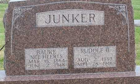 JUNKER, BAUKE (HEERTS) - Grundy County, Iowa | BAUKE (HEERTS) JUNKER