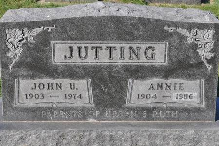 JUTTING, JOHN U. - Grundy County, Iowa | JOHN U. JUTTING