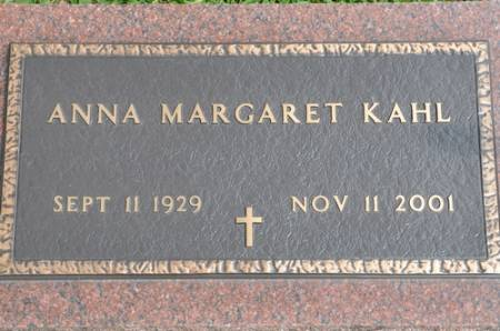 KAHL, ANNA MARGARET (LYNES) - Grundy County, Iowa | ANNA MARGARET (LYNES) KAHL