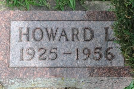 KAHL, HOWARD LESTER - Grundy County, Iowa   HOWARD LESTER KAHL