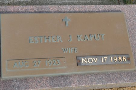 KAPUT, ESTHER J. - Grundy County, Iowa | ESTHER J. KAPUT