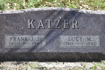 KATZER, FRANK J. JR. - Grundy County, Iowa | FRANK J. JR. KATZER