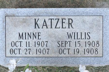 KATZER, MINNE - Grundy County, Iowa   MINNE KATZER