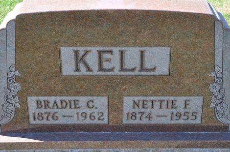 KELL, NETTIE F. - Grundy County, Iowa | NETTIE F. KELL